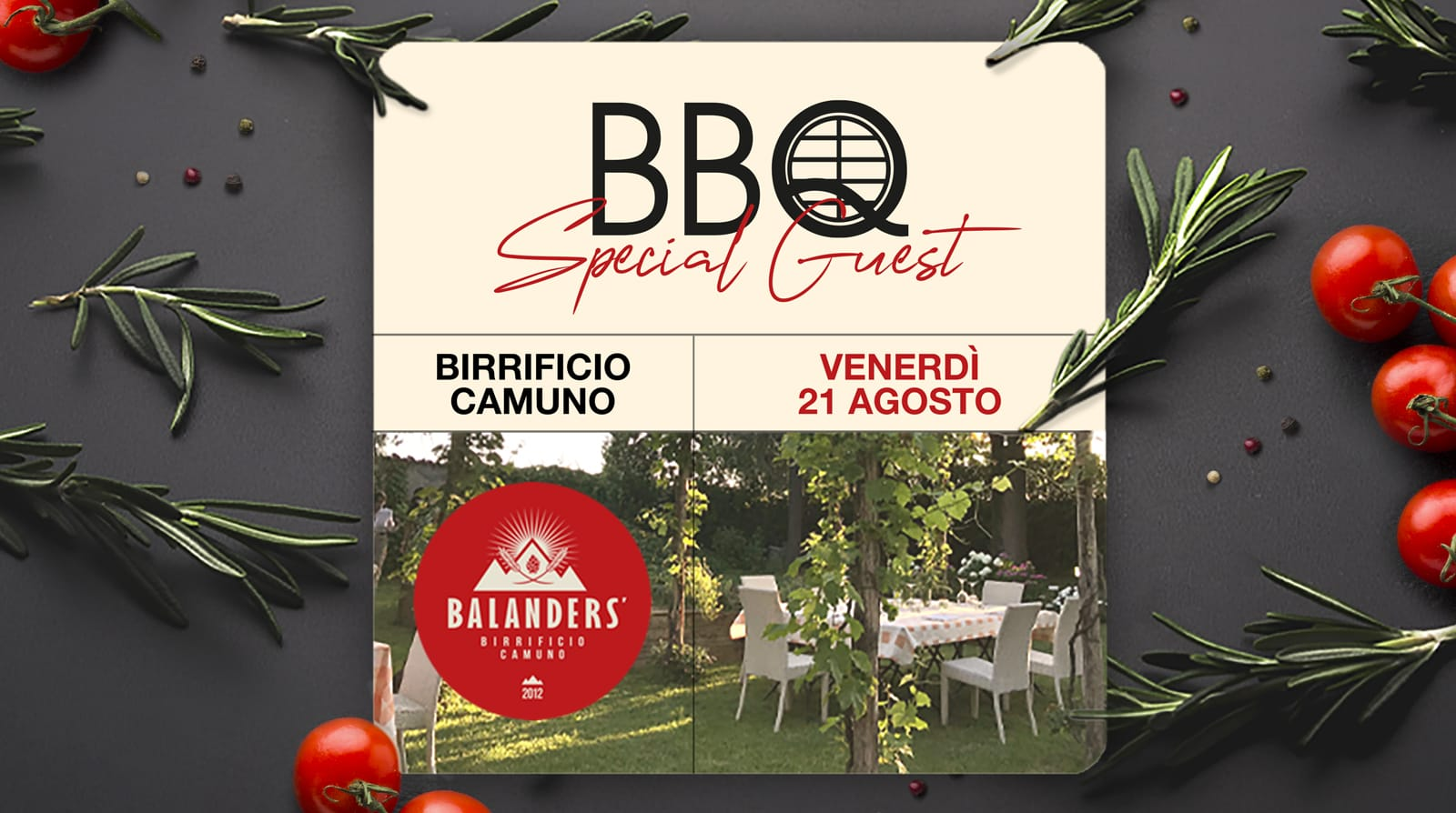 BBQ Special Guest